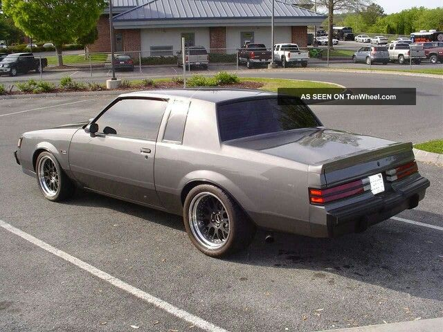 Gray Could Look Good Buick Grand National American Muscle Cars Grand National