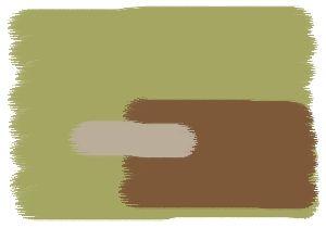 Farbkombination In Grun Wandfarben In Bamboo Noisette Sand
