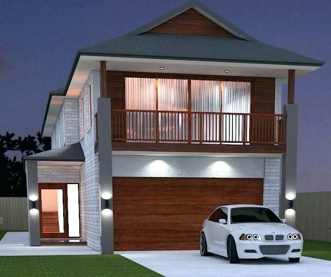 Image result for narrow beach house plans also lot rh pinterest