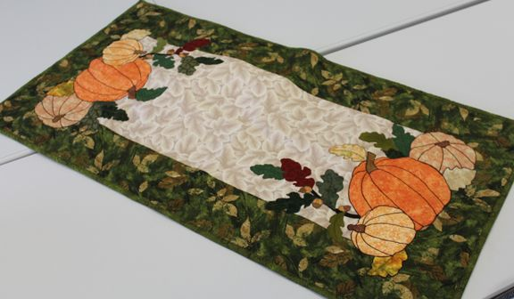 One Of The Winning Fall Table Runners From The 2016 Fall Table Runner  Sewing Challenge At