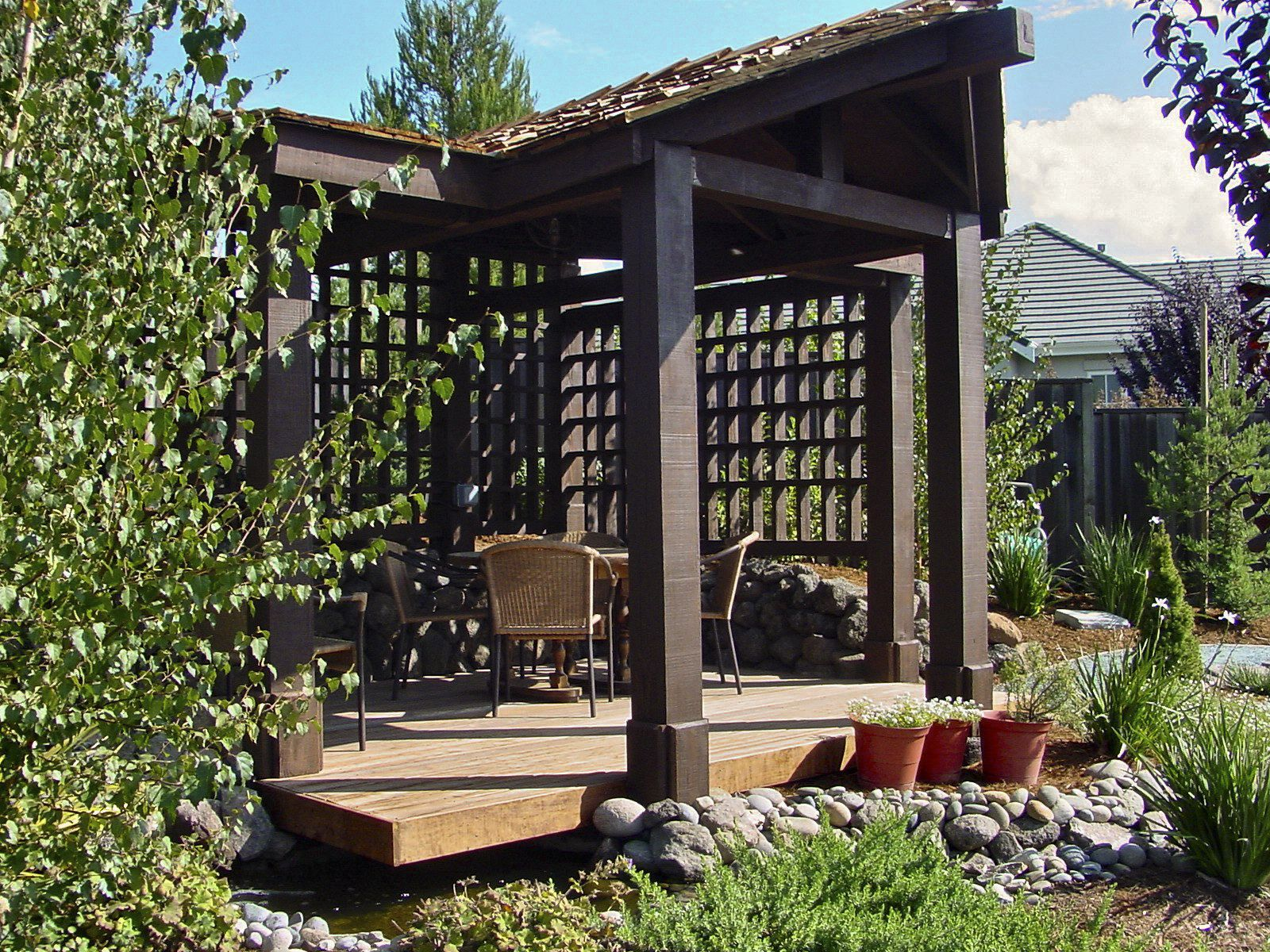 Use A Pergola To Define An Outdoor Living Area Or Add Dimension To A Space Without Taking Away