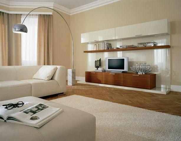 Giallo mostarda per pareti d'effetto. Cappuccino Room Colori Pareti Pareti Soggiorno Pareti Casa Beige