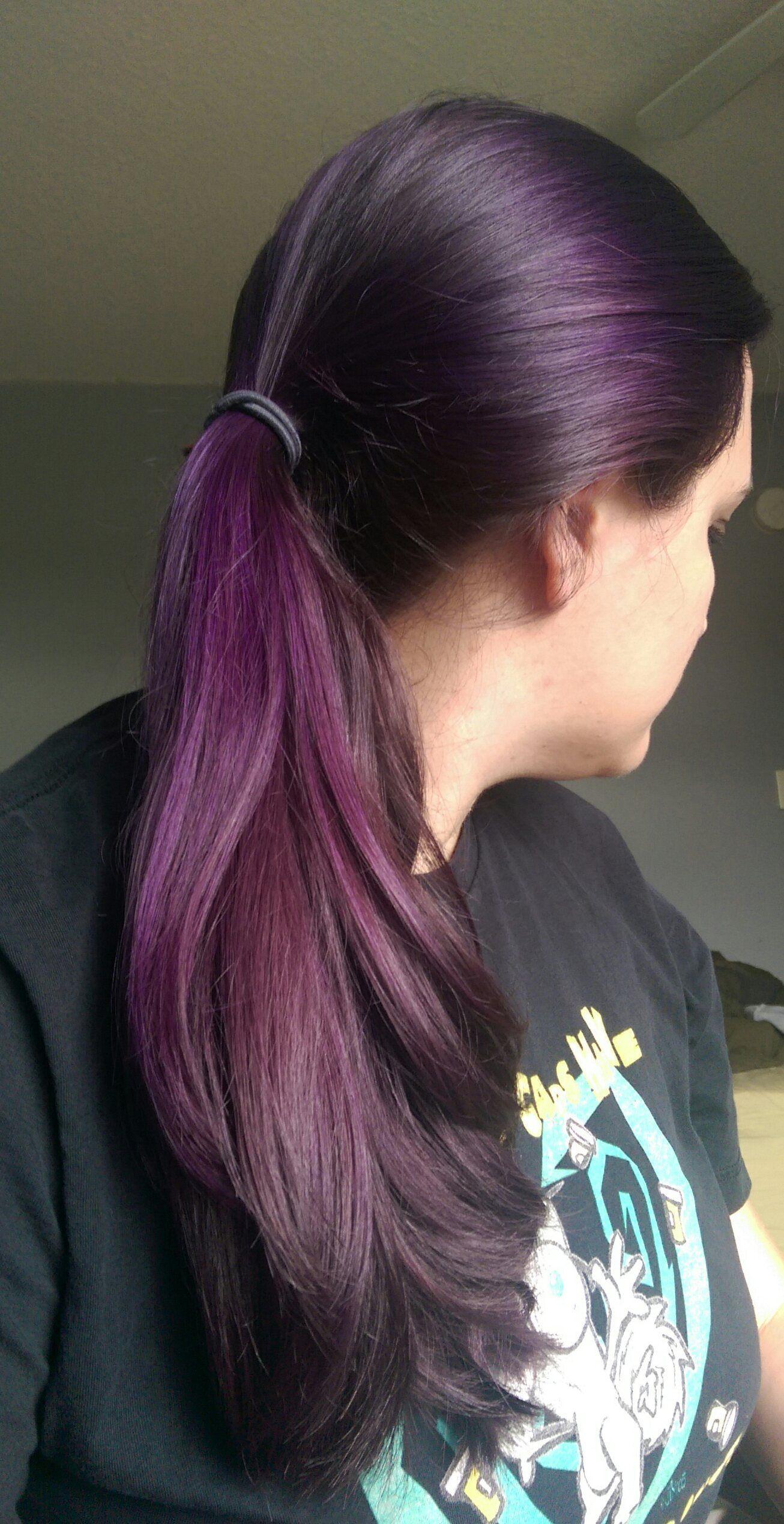 Manic Panics Purple Haze Crazy Awesome Hair Pinterest Hair