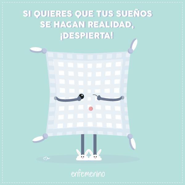¡Buenos días! Sabemos que los #lunes son muy duros pero... ¡A despertarse! #frasedeldia