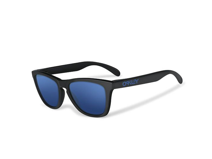 Oakley Heaven Series Frogskins  Matte Black w Ice Iridium   Limited ... 5154c6fca0