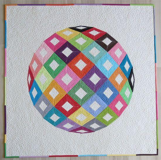 Wall Hanging Quilt Patterns modern wall hanging quilt pattern- contemporary geometric quilt