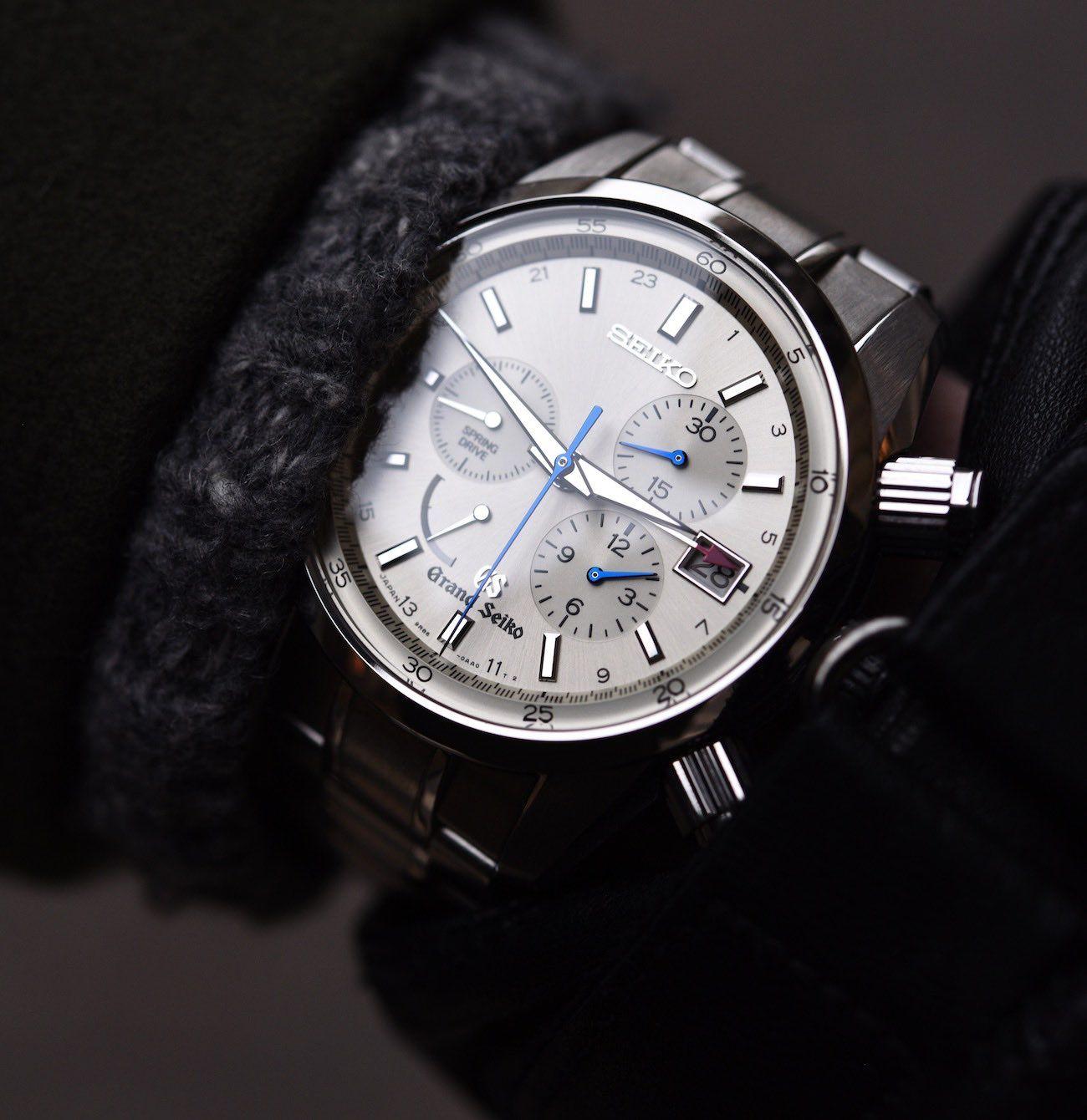 Grand Seiko Spring Drive Chronograph SBGC001 Watch Review ...