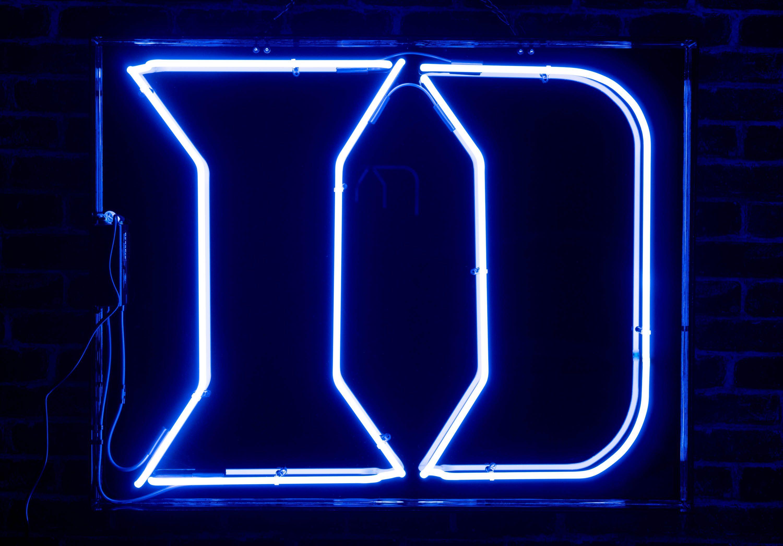 ncaa duke blue devils logo neon sign in 2020 neon signs neon duke blue devils logo ncaa duke blue devils logo neon sign in