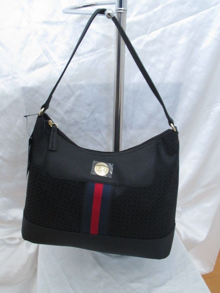 New Handbag Tommy Hilfiger Purse Hobo Style 6937389 Variation Colors #TommyHilfiger #Hobo