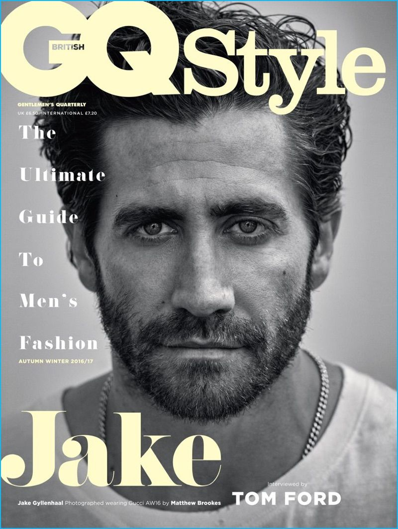 Jake Gyllenhaal Covers British GQ Style, Interviewed by