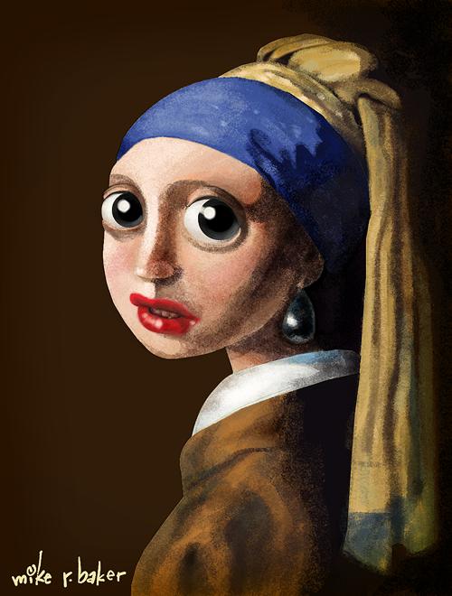 Pin on La joven de la perla