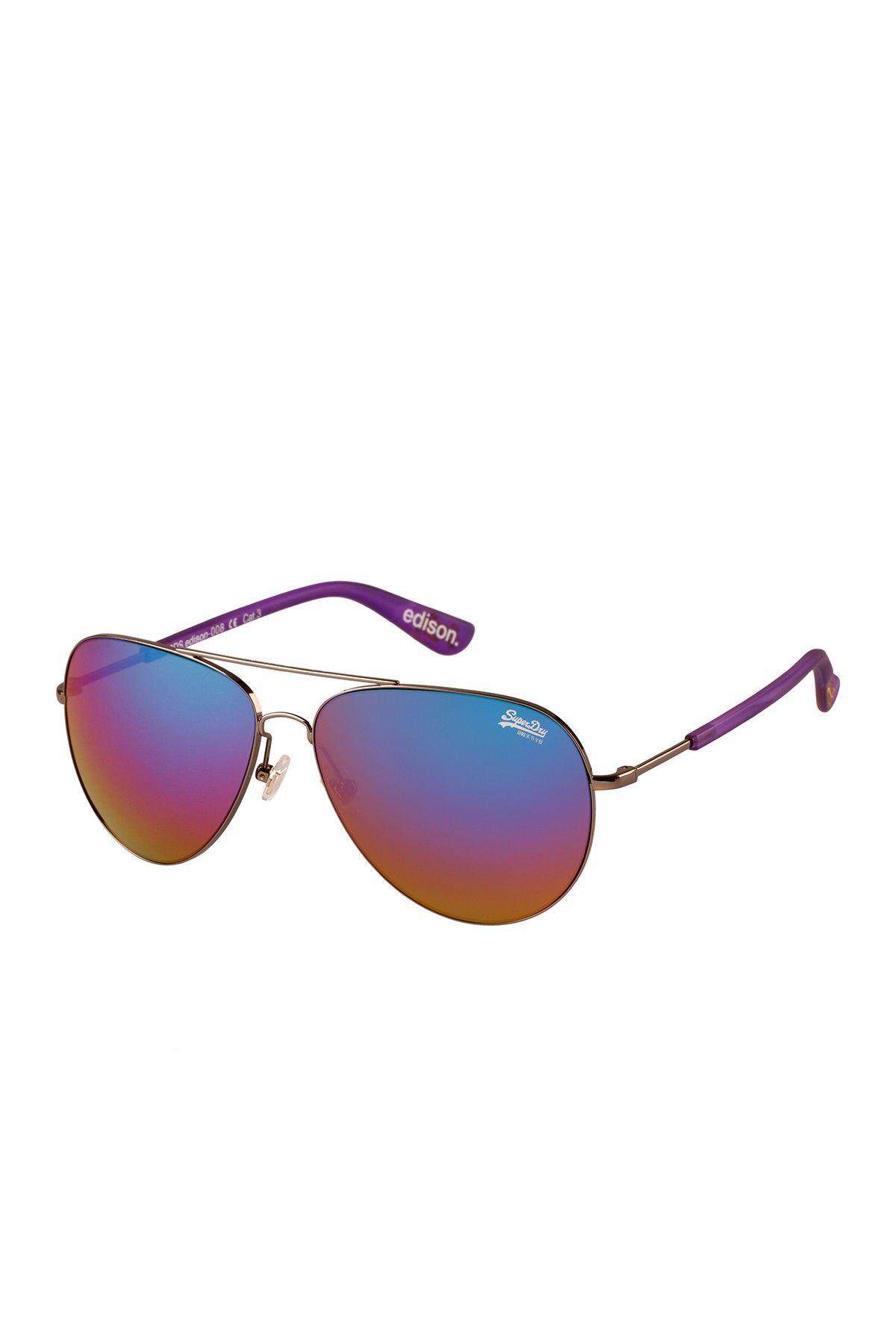 1c41e888d Unisex Edison Metal Sunglasses by Superdry on @HauteLook | glasses ...