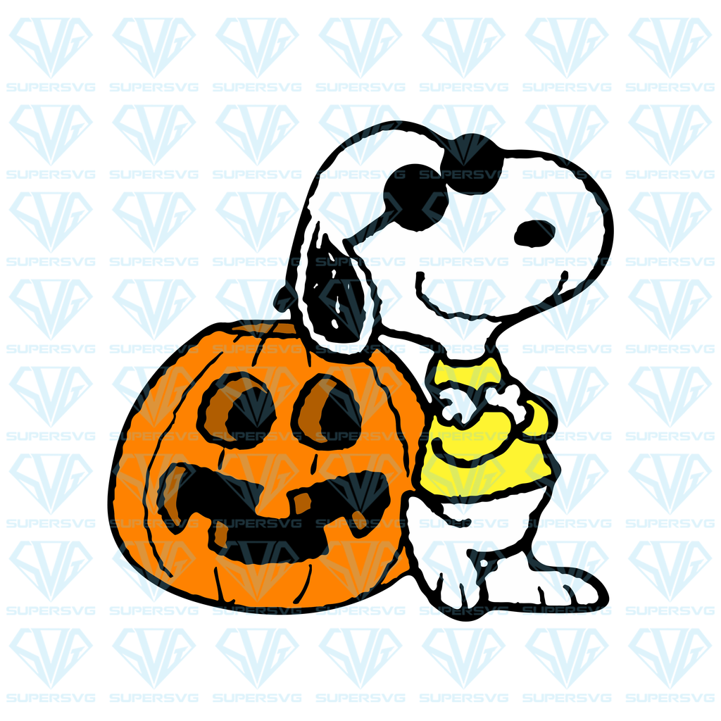 Snoopy Halloween Svg Files For Silhouette Files For Cricut Svg Dxf Eps Png Instant Download 2 Supersvg Snoopy Halloween Snoopy Funny Svg