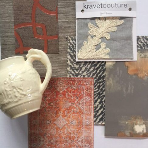 Inspiration board features new neutrals which have emerged from some of our favorite colors like blush and grey.  These neutrals create backgrounds that are easy to build on and live with.  Continue reading to check out our newest inspiration boards.