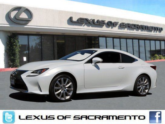 Coupe 2015 Lexus Rc 350 Awd With 2 Door In Sacramento Ca 95821 Lexus Lexus Cars Awd
