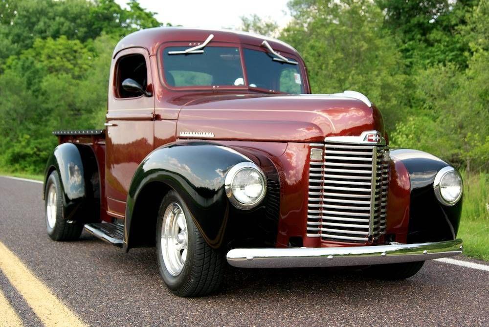 1947 International KB-1 Pick Up Truck Maintenance of old vehicles ...