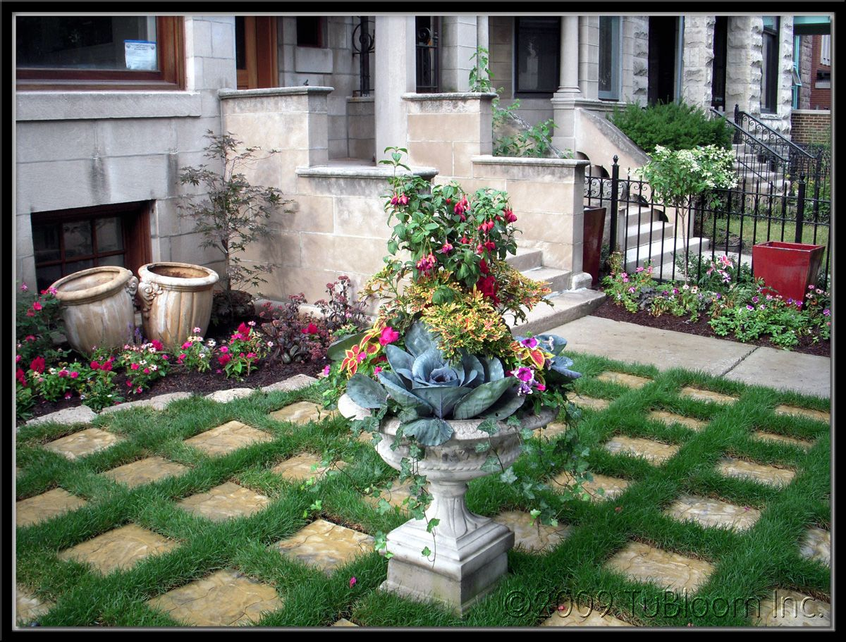 victorian house landscape design | TU BLOOM GARDEN ...