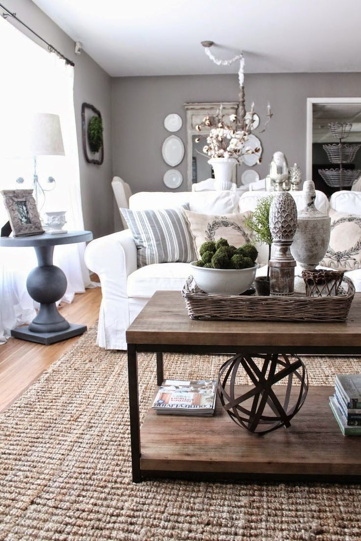 The textile fabric guide jute interiors and living rooms - Modern french living room decor ideas ...