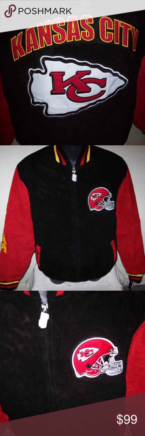 Kansas City Chiefs Nfl Suede Jacket Large Suede Jacket Nfl Kansas City Chiefs Jackets [ 1740 x 580 Pixel ]
