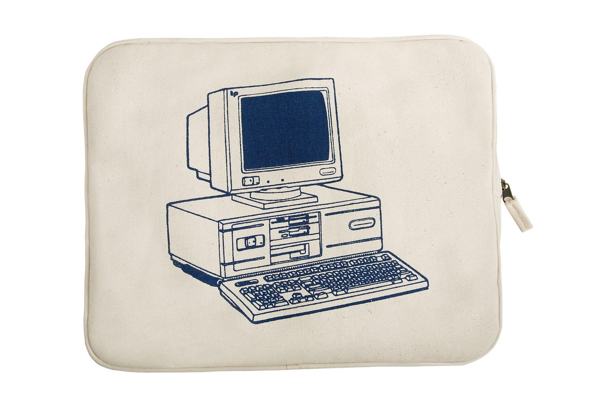 Retro laptop case