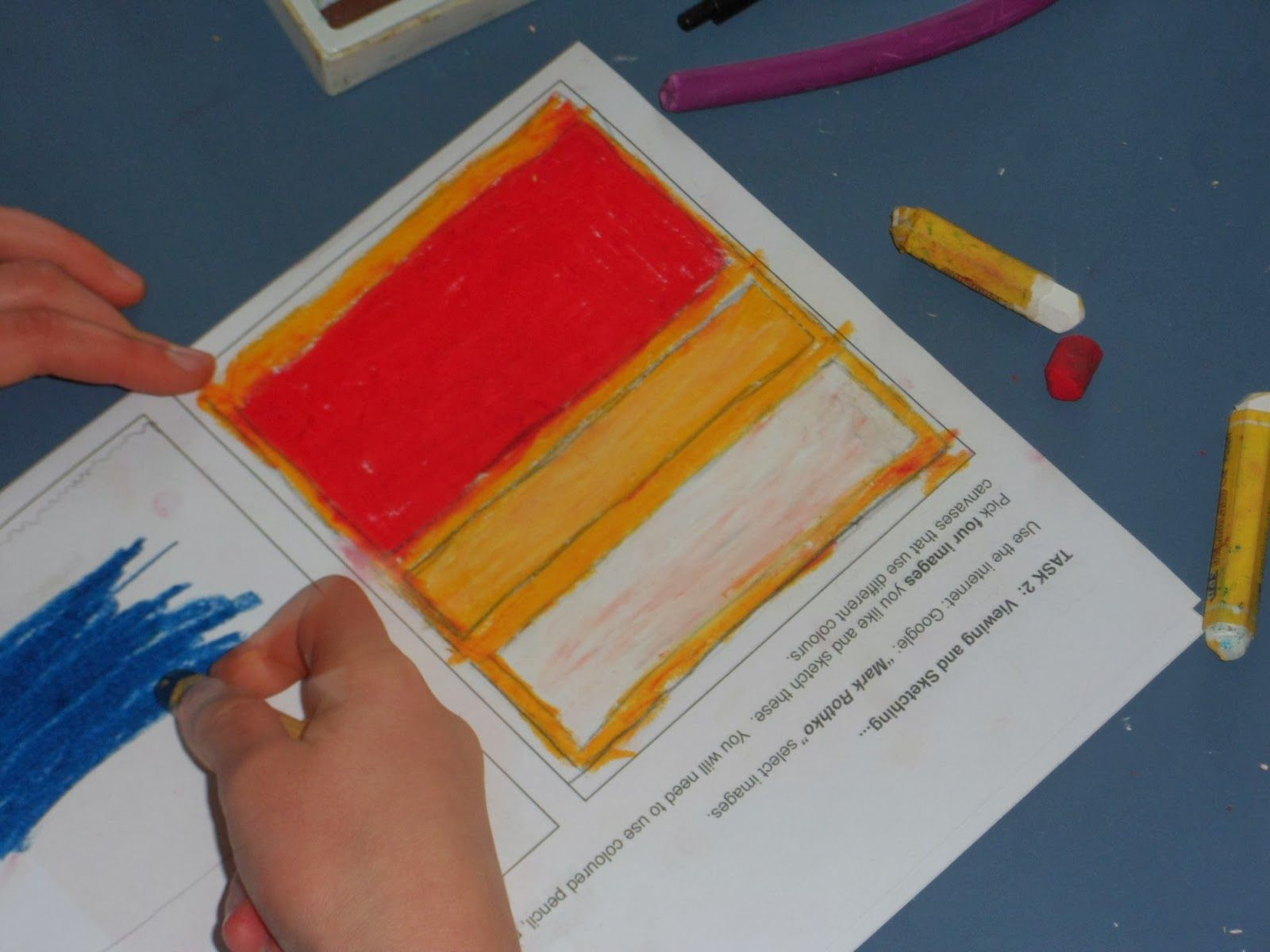 Task 1 I Showed The Children Two Different Artworks By