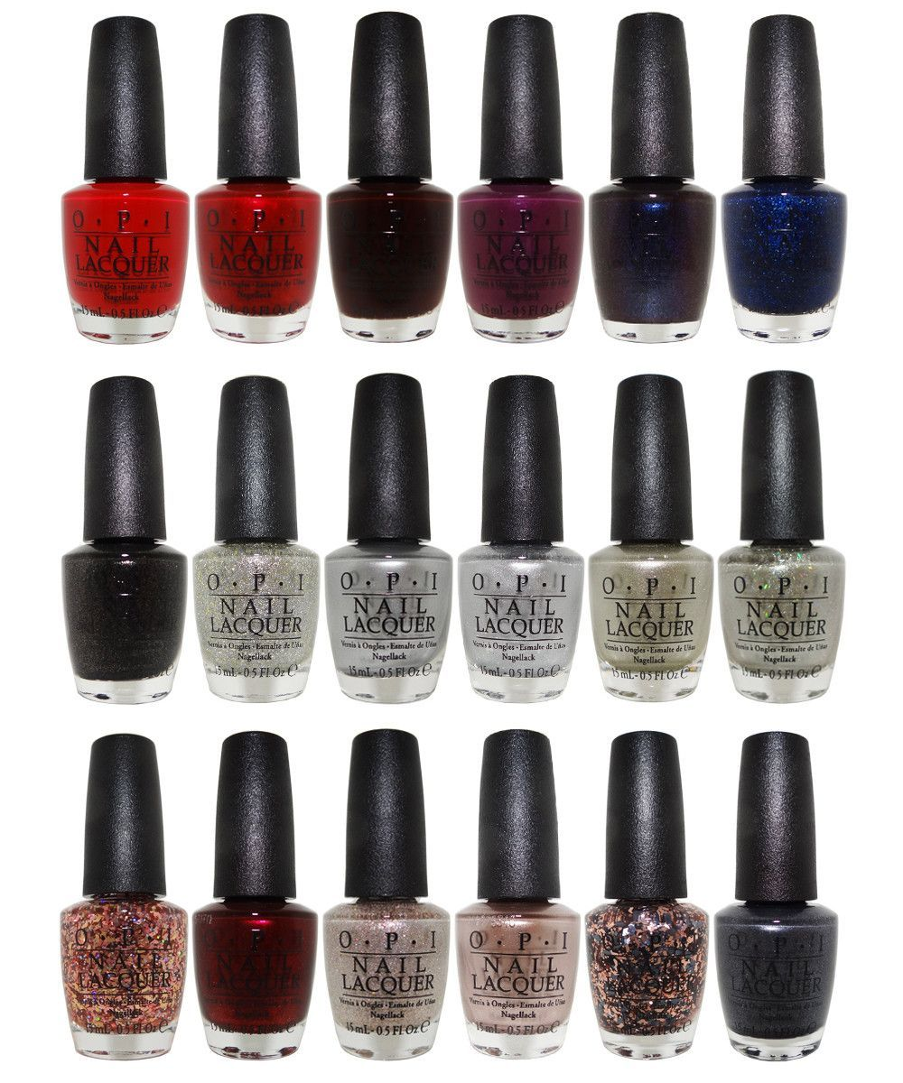 OPI Starlight Collection Fall 2015 Nail Lacquer Set of 18 Colors ...