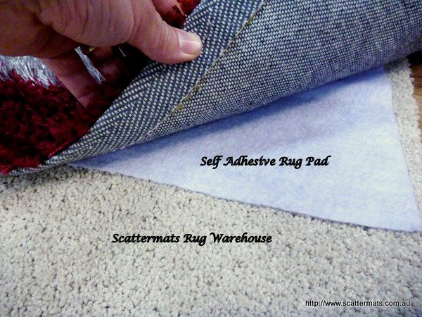 Premium Rug Lock To Stop Rugs Slipping On Carpet Or Hardfloors Use Self Adhesive