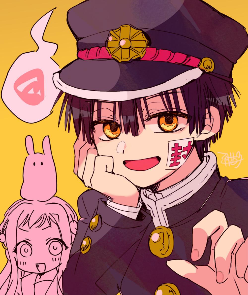 三月猫子🦇 on in 2020 Hanako, Anime, Chibi drawings