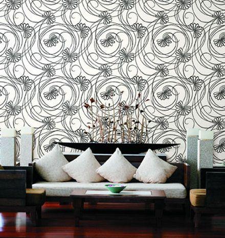 Papel tapiz para muro purple interiores monterrey for Decoracion de interiores monterrey