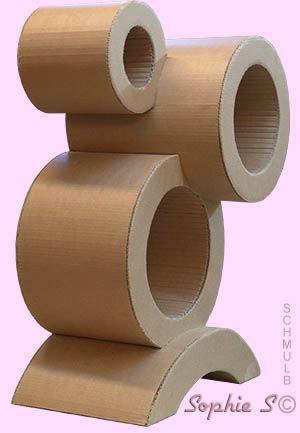 Meuble design en carton carton pinterest cart n - Meuble en carton design ...
