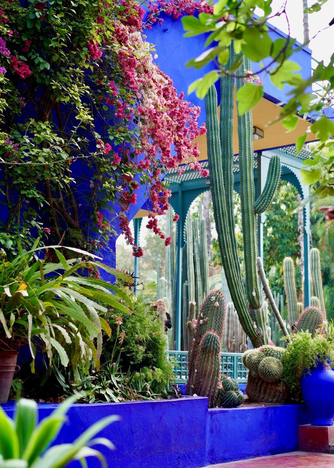 Jardin Majorelle Marrakech Morocco Marrakech Gardens Moroccan
