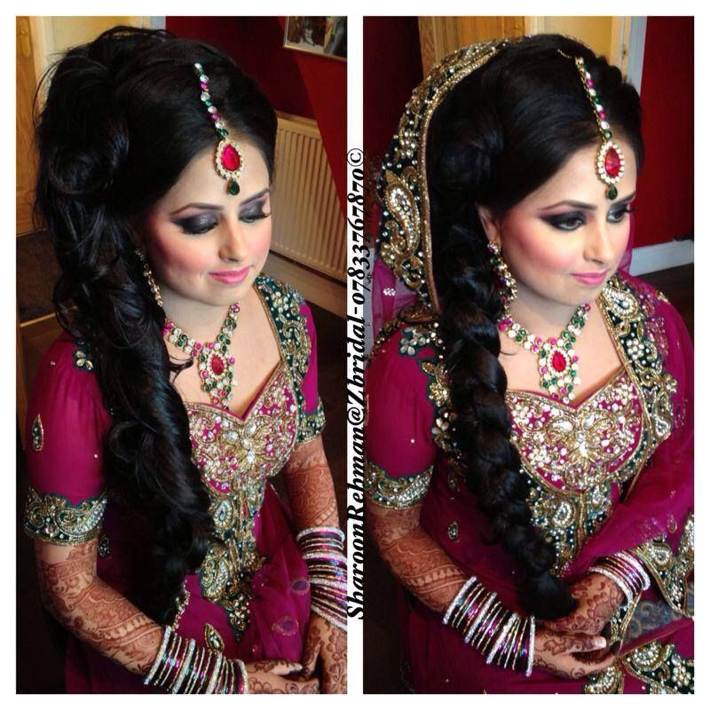Phenomenal Indian Bridal Hairstyles Hairstyles And Bridal On Pinterest Hairstyle Inspiration Daily Dogsangcom