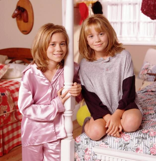 Young Olsen Twins | Mary Kate and Ashley Olsen Twins ...