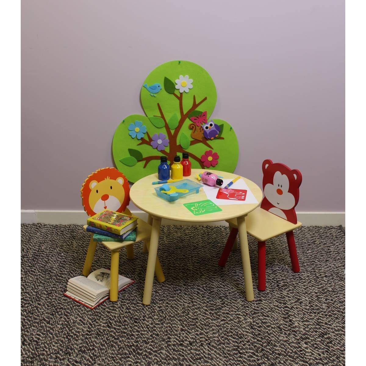 Kids Round Wooden Table Hobbycraft Playroom Ideas Wooden