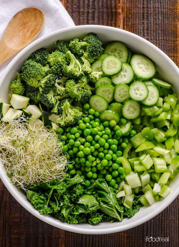 Рецепт Зеленой Диеты. Зеленая диета