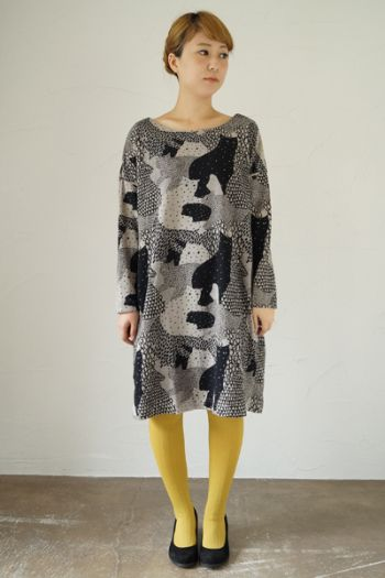 Another Marble Sud dress, another beauty. With cats on it of course.