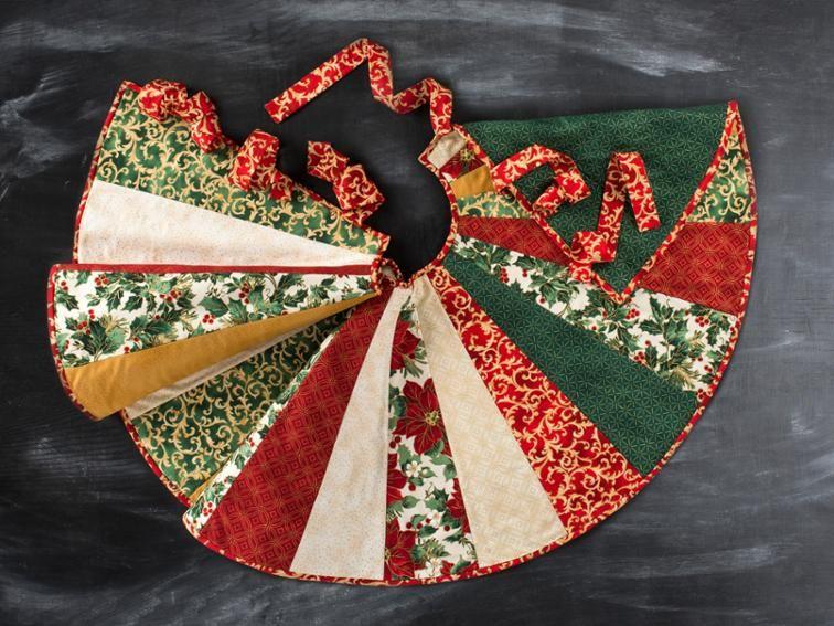 Christmas Tree Skirt Craftsy Holidays Pinterest Tree skirts