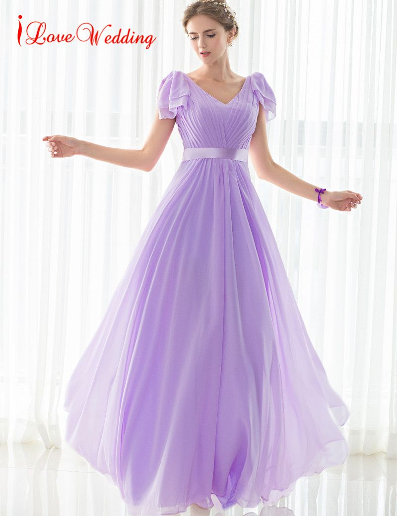 Click to Buy << iLoveWedding 2017 Hot Sale Long Bridesmaid Dresses ...