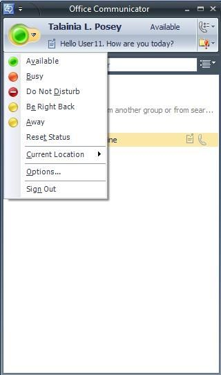 Microsoft Office Communicator 2007 Icon | PowerPoint Tips