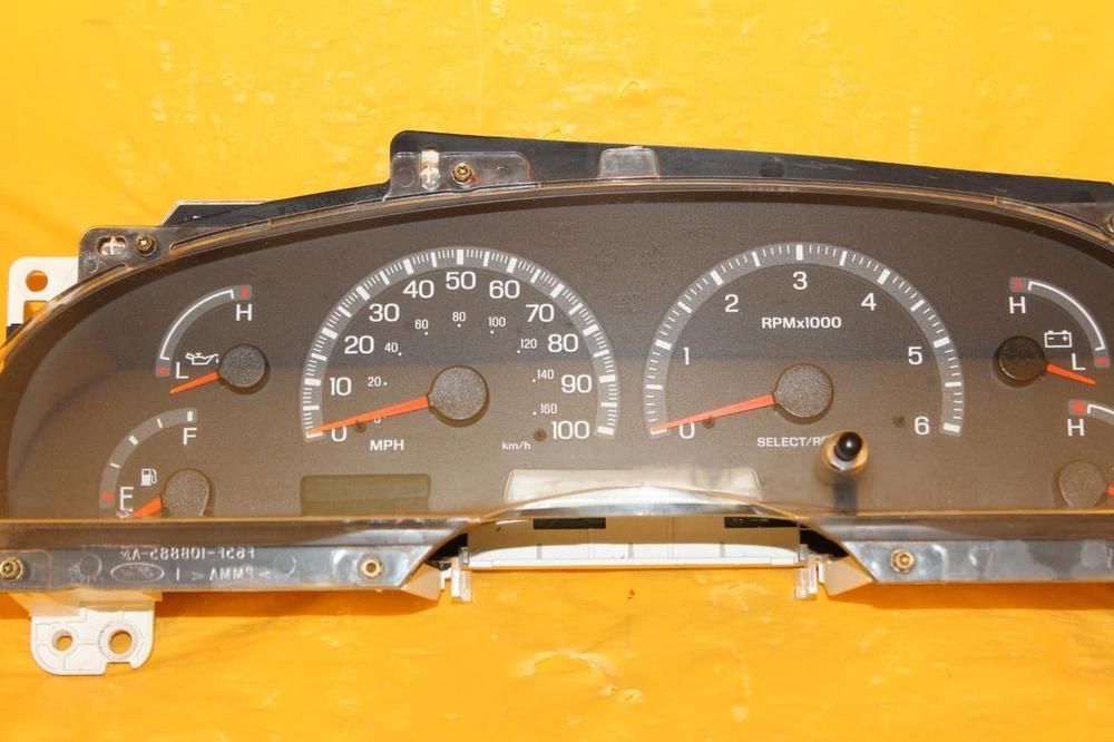 ford f150 instrument cluster replacement