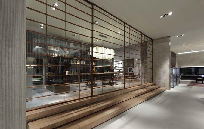 Rimadesio: produzione di porte scorrevoli in vetro e alluminio ...