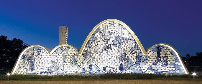 Pampulha Chapel Belo Horizonte Mg Obras De Oscar Niemeyer