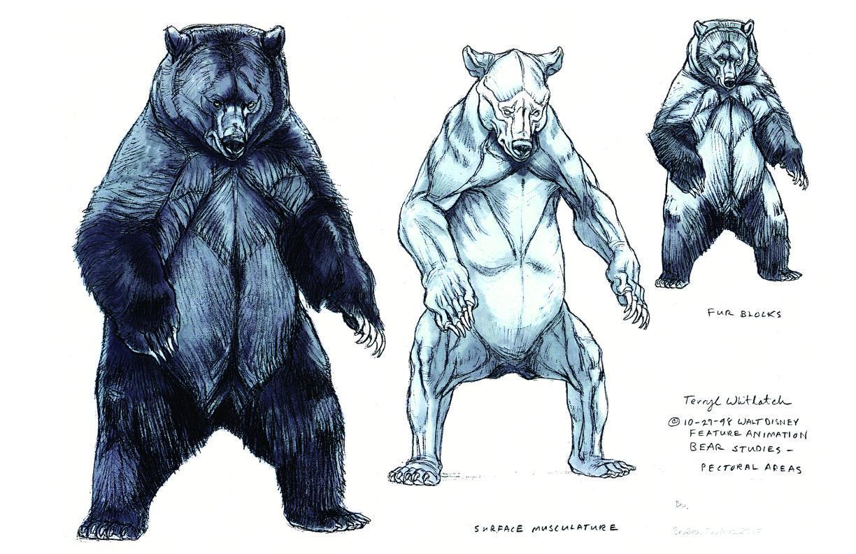 Concept art do filme Irmão Urso | Tatuagens | Pinterest | Creature ...