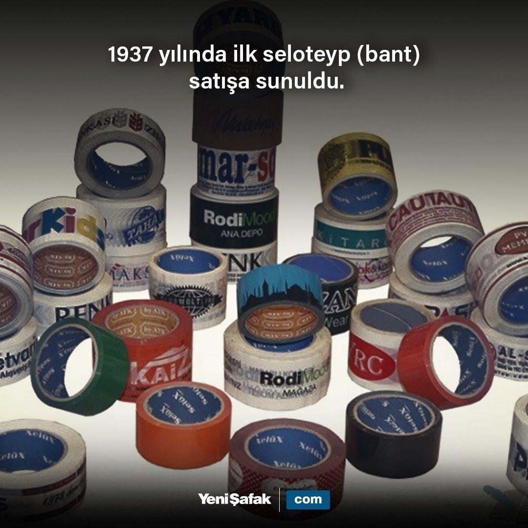 TarihteBugün 1937 yılında ilk seloteyp (bant) satışa