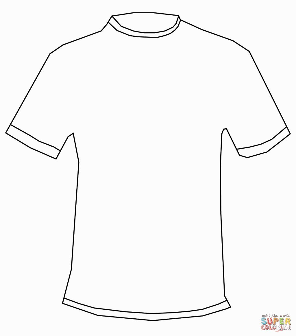 Coloring Pages Of A Shirt
