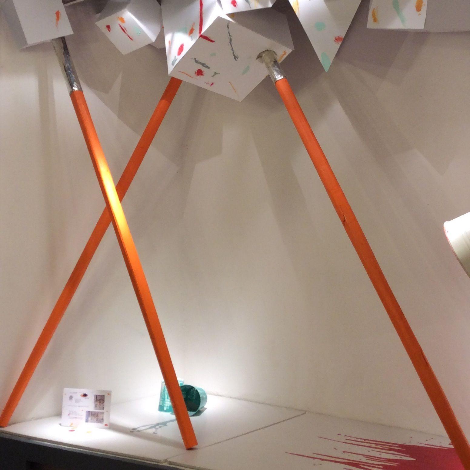 #Ártidi #escaparate #granformato #artistascontemporaneos #KarinaWiciak Realizado por los alumnos del Grupo I, del Máster de Escaparatismo y Visual Merchandising