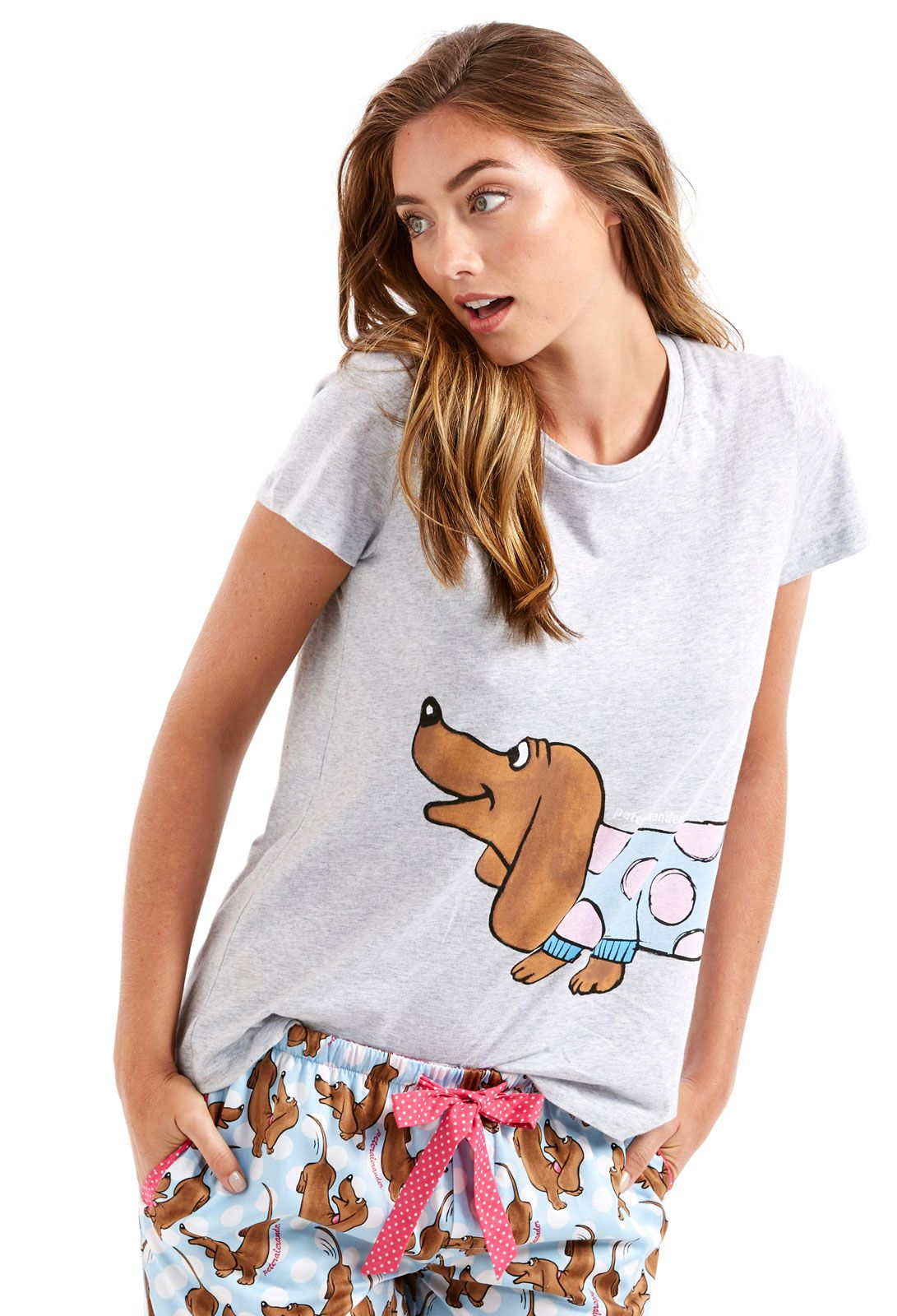 Image for Long Dog Penny Tee from Peter Alexander (With