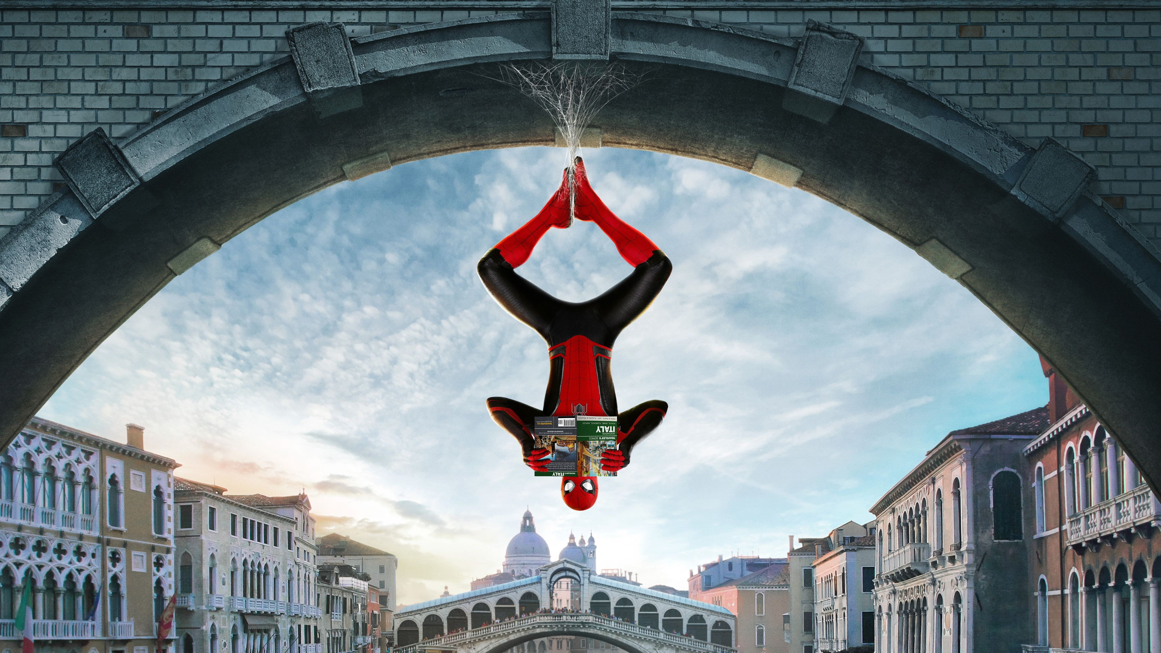 Wallpaper 4k Spider Man Far From Home Movie 2019 movies