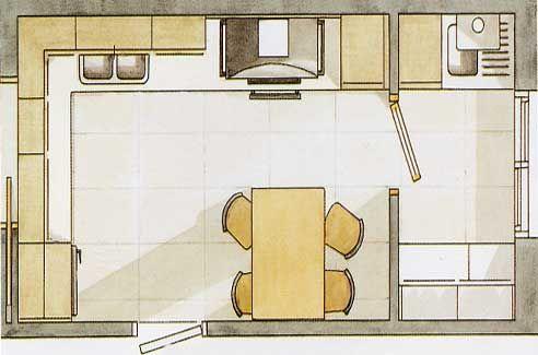 Cocina lavadero planos de casas peque as pinterest - Lavaderos de cocina ...