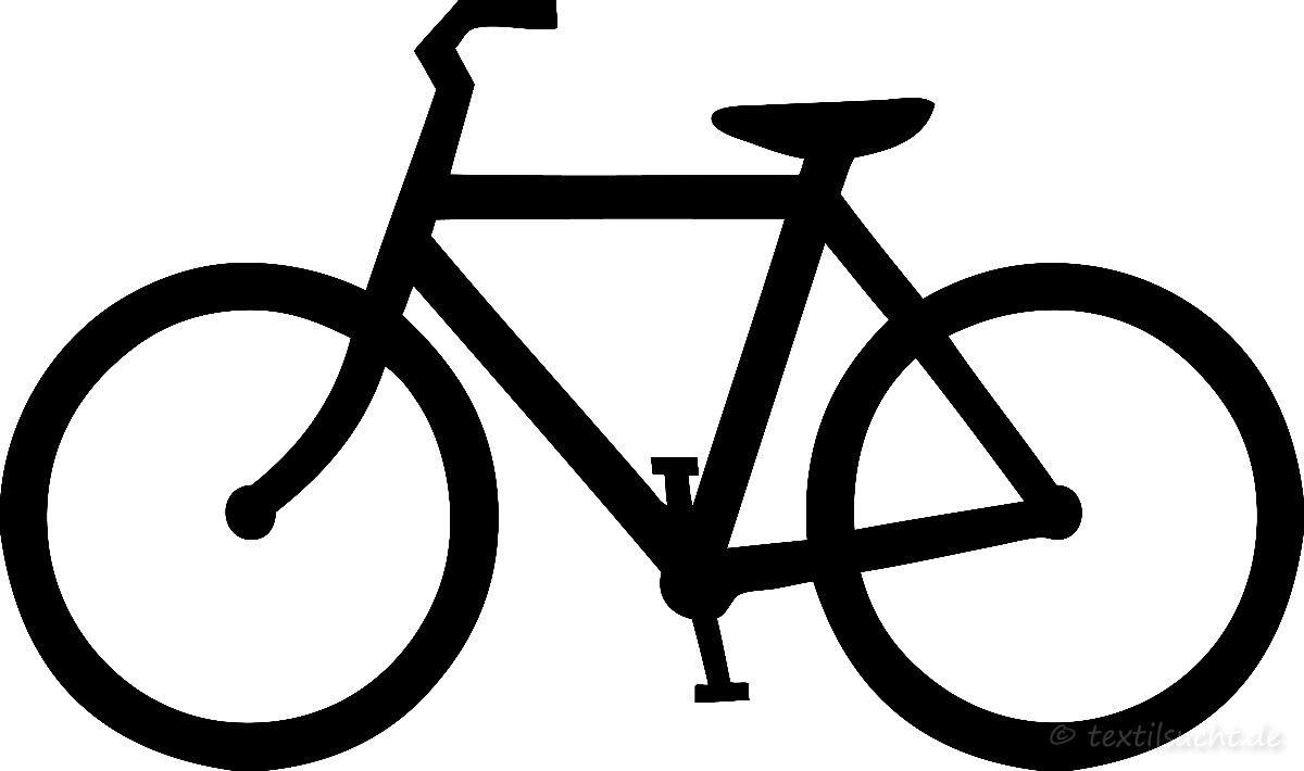 kostenlose Plotterdatei Fahrrad - Motiv in den Formaten JPG, SVG und ...